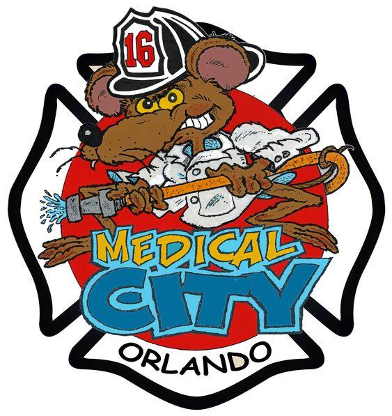 Orlando Fire Department Station 16 Fire Dept Tattoos Fire Badge Fire Dept Logo