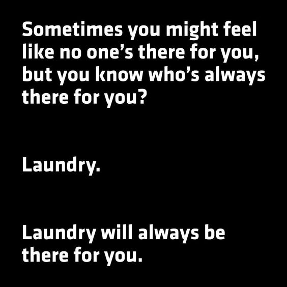 Laundry is never ending 😒