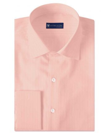 Buy Cesena Chalk Pink party wear shirts for men made from a blend ...