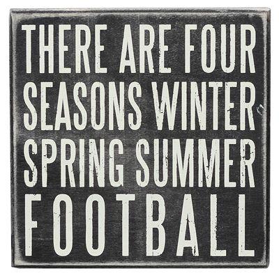 #Football Season. There are four season, winter, spring, summer, football.