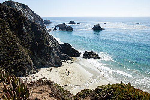 "To the Sea, Big Sur, California - Framed Photo Art Print, 11""x 14"" Romagosa Fine Arts http://www.amazon.com/dp/B014YZS6RK/ref=cm_sw_r_pi_dp_Dc16vb15DG2VV"
