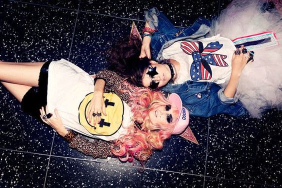 #grunge #grungefashion #pastel #ombre #hipster #pastelgoth #pastelgrunge #audreykitching