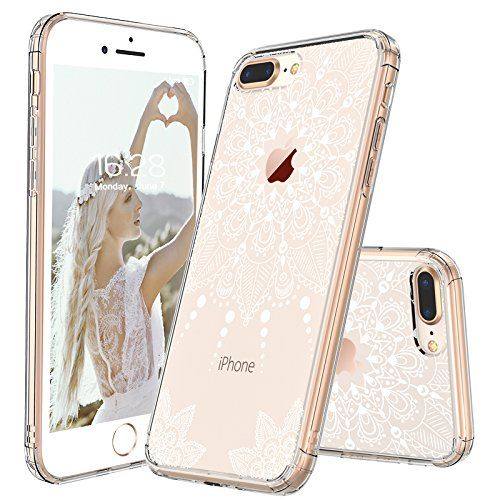 Iphone 8 Plus Case Iphone 8 Plus Clear Case Mosnovo White Henna Mandala Floral Lace Clear Design Printed Har Iphone Case Fashion Iphone Iphone Case Collection