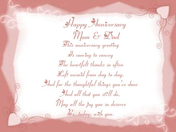 35th Wedding Anniversary Card Quotes Happy 45th Anniversary – Wedding Anniversary Card Quotes