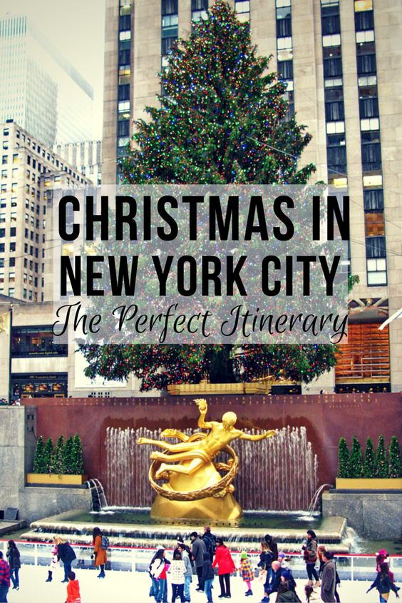 train times christmas and new york city on pinterest On christmas trips to new york