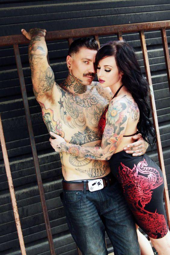 Sexy beautiful women kelli o 39 hara and tattoo couples on for Topless tattoo girls