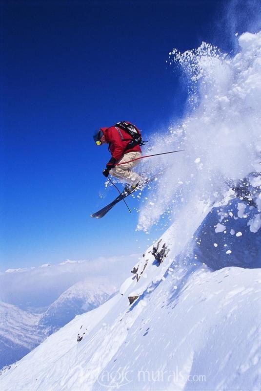 Snow Storm In 2020 Ski Inspiration Skiing Snow Sports