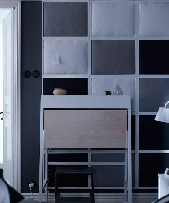 r aliser soi m me un mur insonoris avec des cadres photo. Black Bedroom Furniture Sets. Home Design Ideas