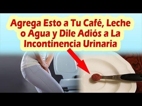 incontinencia urinaria remedio natural