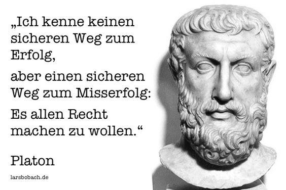 Platon über den sicheren Weg zum Misserfolg