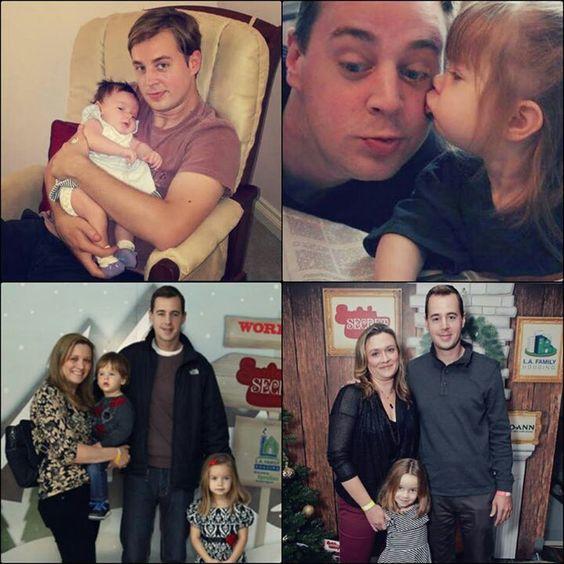 Koláž - Sean s rodinou