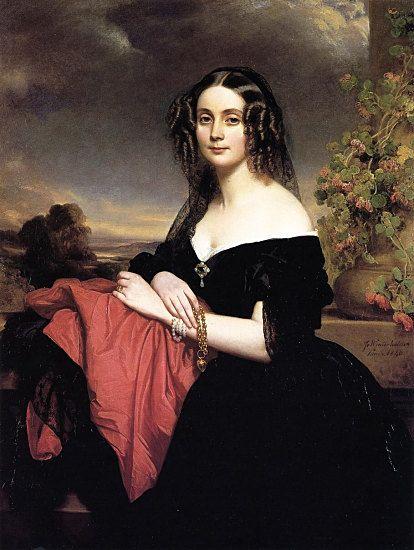 Claire de Bearn, Duchess of Vallombrosa, Winterhalter