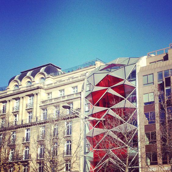 Citro n showroom champs elys es paris emmanuelle gautrand architecte ar - Showroom point p paris ...