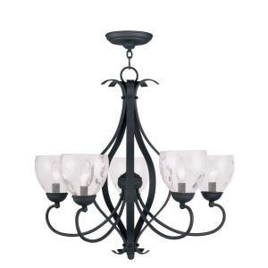 Filament Design Providence 5-Light Black Incandescent Ceiling Chandelier CLI-MEN4805-04 at The Home Depot - Mobile
