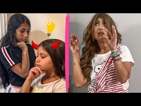يوميات ميمي ونور البنات يسون خطه على أمهم Youtube Hair Styles Hair Style