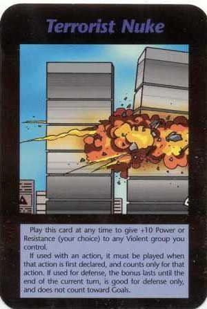 複合災害 イルミナティカード