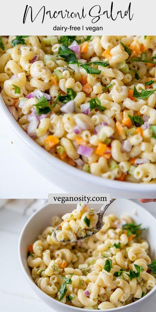 Macaroni Salad Recipe Dairy Free