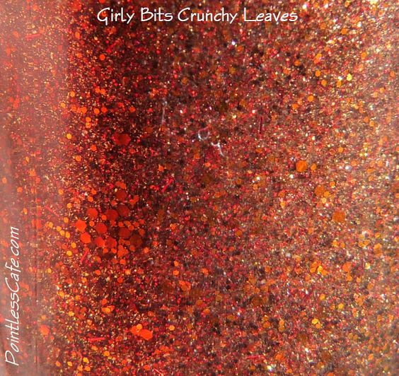 Girly Bits Crunchy Leaves