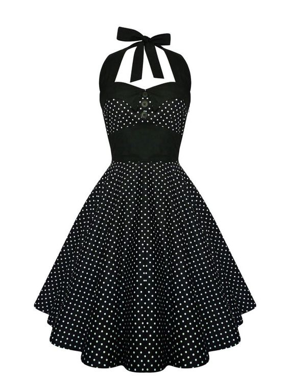 Lady Mayra Ashley Polka Dot Dress Vintage Rockabilly Pin Up 1950s Retro Style Gothic Lolita Swing Party Halloween Prom Plus Size Clothing by ladymayraclothing. Explore more products on http://ladymayraclothing.etsy.com:
