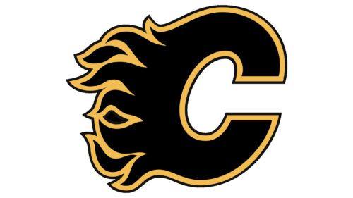 The Most Visible Colors Of Calgary Flames Hockey Logos Logos