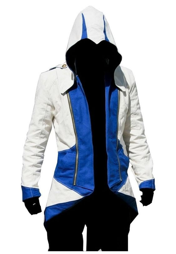 Cosplay Costume Hoodie/Jacket/Coat-10 Opitions for the fans,White with Blue,Men X-Large - See more at: http://halloween.florenttb.com/costumes-accessories/cosplay-costume-hoodiejacketcoat10-opitions-for-the-fanswhite-with-bluemen-xlarge-com/#sthash.ZV9eksNL.dpuf