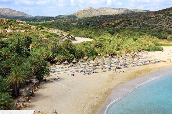 """""""Palmenstrands von Vai"""" auf Kreta"""