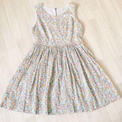 Amy Liberty Print Ladies Dress The Handmade Clothing Company Womens Dresses Dresses Classic Dress