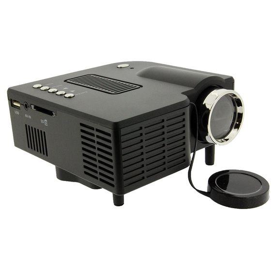 Mini Portable HD LED Projector Home Cinema Theater PC Laptop VGA USB SD AV HDMI #UnbrandedGeneric