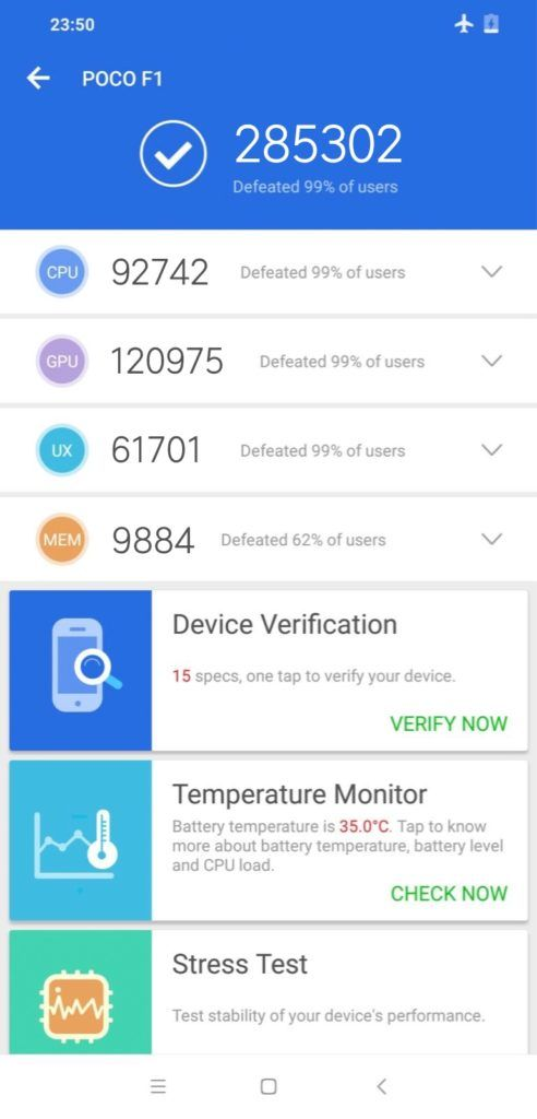 Xiaomi Pocophone F1 Visits Antutu Benchmarks Beats Oneplus 6