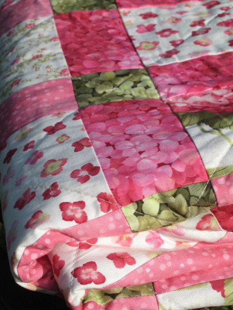 Disappearing Nine Patch Quilt Throw Quilt patchwork Quilt Quilts Quilt Patch Quilts Handmade Quilts Homemade Quilts Patchwork (1997.00 DKK) by byBromand