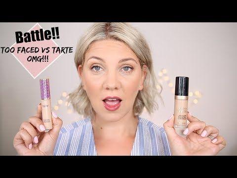 New Meilleur Anticerne Du Monde Born This Way De Too Faced Vs Shape Tape De Tarte Youtube Too Faced Meilleur Anti Cerne Maquillage