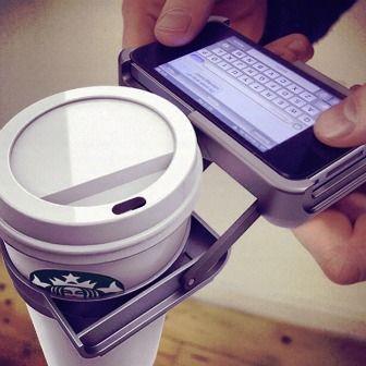 Bekerhouder voor de echte multitasker