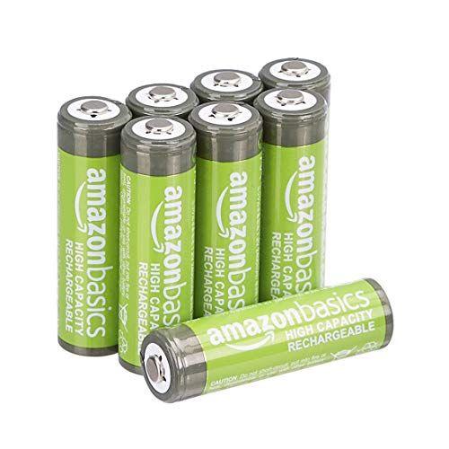 Amazonbasics Aa High Capacity Rechargeable Batteries Pre Https Www Amazon Com Dp B00hzv9wtm Ref Cm Sw R Pi Rechargeable Batteries Batteries Battery Sizes