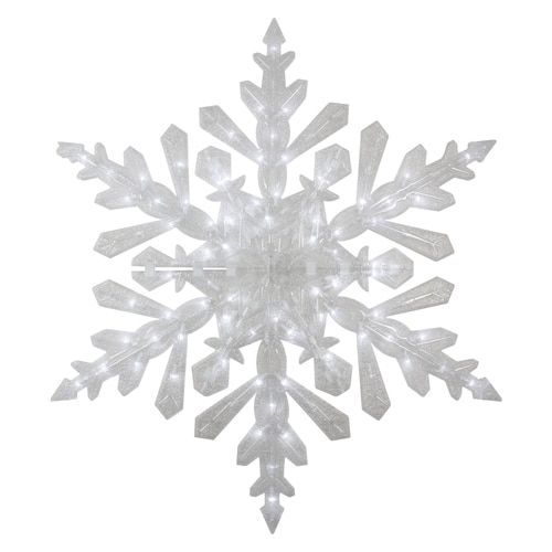 47 Led Lighted Twinkling Cool White Snowflake Christmas Outdoor Decoration 31601364 Outdoor Christmas Decorations Outdoor Christmas Decorating With Christmas Lights