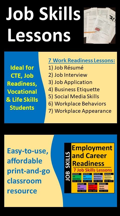 Job Skills Activities Print Or Distance Learning For High School Or Cte In 2020 Career Readiness Skills Activities Social Media Etiquette