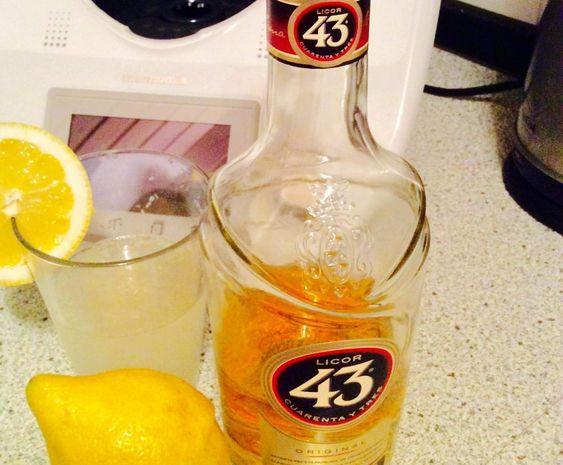 Rezept Zitrone 43 für wirklich heise Tage! von Cooking_gardener - Rezept der Kategorie Getränke