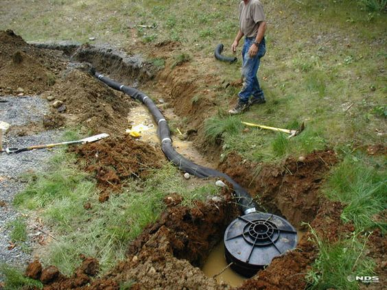 Nds flo well in action the perfect solution to for Drainage solutions for my yard