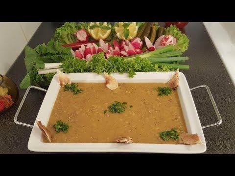 شوربة العدس بأسهل طريقة واطيب مذاق Youtube Meat Recipes Recipes Soup