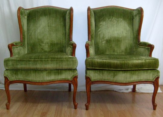 Magnificent Details About Pair Of Green Vintage French Bergere Louis Xv Squirreltailoven Fun Painted Chair Ideas Images Squirreltailovenorg