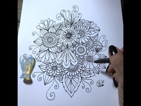 11 Zendoodle Art Kcdoodleart Youtube Doodle Art Flower Doodles Zentangle Art