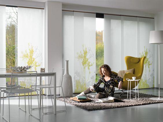 Feriados...esa sensación de disfrutar el doble tu vida.   Cortinas Panel Luxaflex® HunterDouglas.