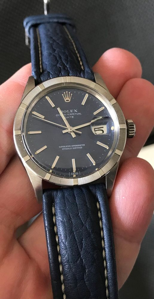 Rolex Vintage Stainless Steel Oyster Perpetual Date 1501