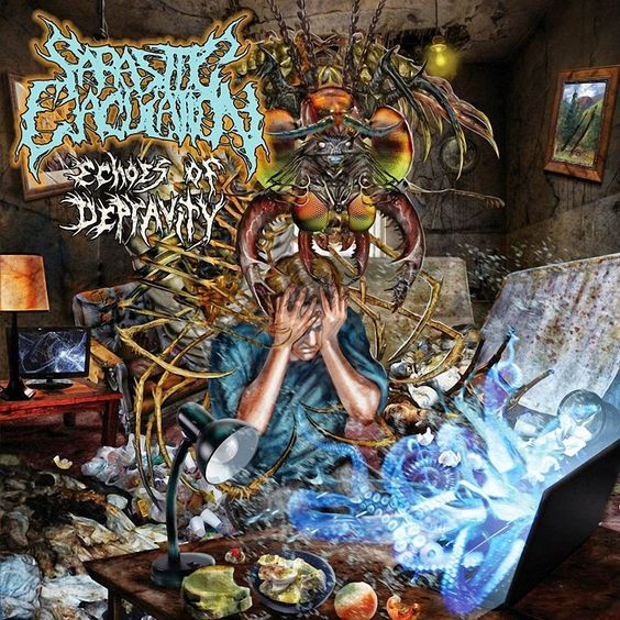 GERATHRASH - extreme metal: Parasitic Ejaculation - Echoes Of Depravity (2015)...