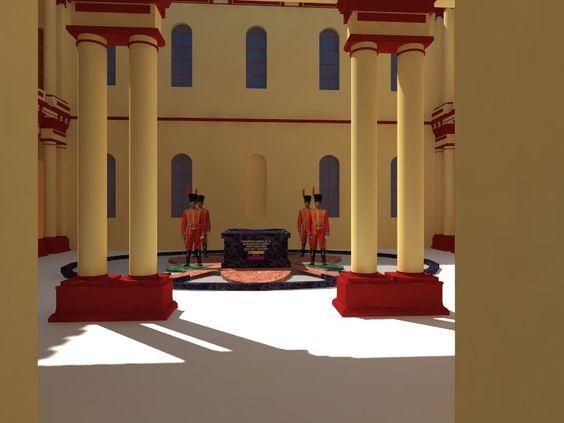 Flor de los 4 Elementos y Mausoleo del Comandante Supremo de la Revolución Bolivariana, Hugo Rafael Chávez Frías