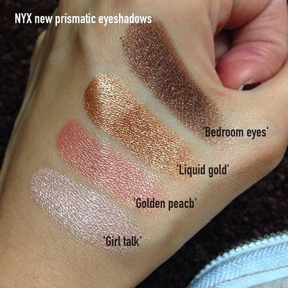 Get soft, smokey eyes with the creamy, pigmented NYX Cosmetics Prismatic Shadows. cc: @lookamillion