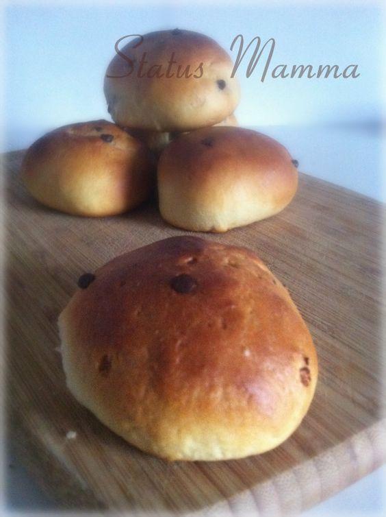 Ricetta passo passo per fare dei pan brioche dolci simil pangoccioli