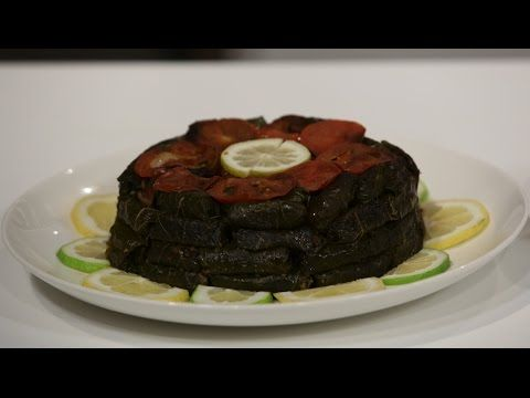 محشي ورق عنب دايت سالي فؤاد Youtube Food Desserts Cake