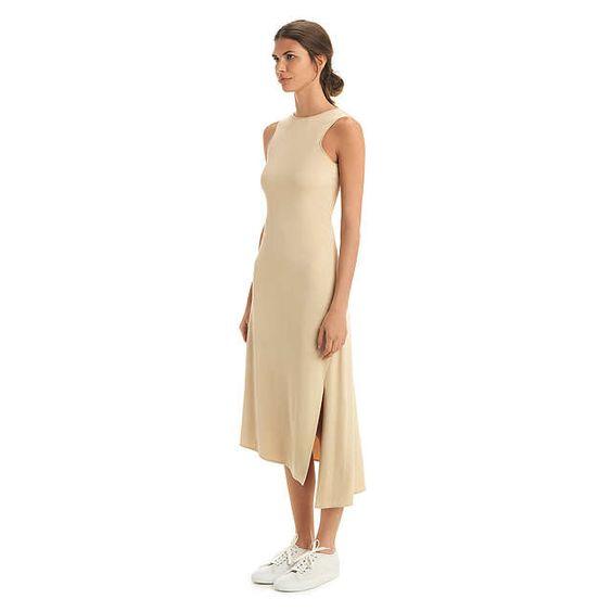 BuyNicole Farhi Lillie Trapeze Dress, Nude, 16 Online at johnlewis.com