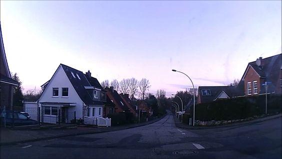 Wir fortsetzen die Autoreise durch Deutschland - Daschcam video aus Deut...