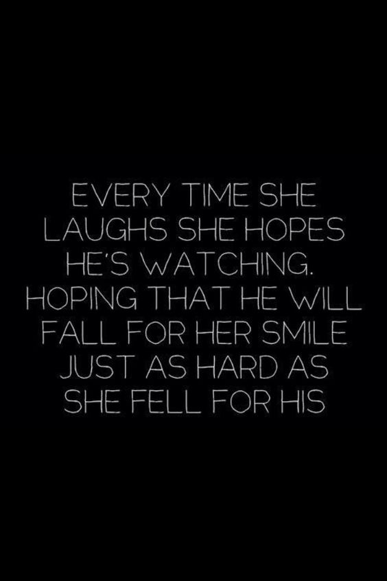 Every girl feels this way